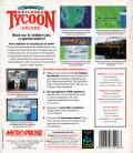 Sid Meier's Railroad Tycoon Deluxe DOS Back Cover