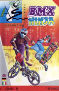 BMX Ninja Commodore 64 Front Cover