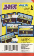 BMX Ninja Commodore 64 Back Cover