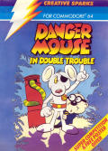 Danger Mouse in Double Trouble Commodore 64 Front Cover