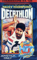 Daley Thompson's Decathlon Commodore 64 Front Cover