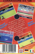 Daley Thompson's Decathlon Commodore 64 Back Cover