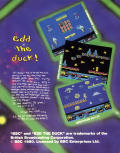 Edd the Duck! Commodore 64 Back Cover
