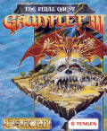 Gauntlet III: The Final Quest Commodore 64 Front Cover