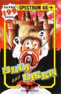 Olli & Lissa: The Ghost of Shilmore Castle ZX Spectrum Front Cover