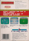 Kung-Fu Heroes NES Back Cover