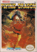 Flying Dragon: The Secret Scroll  NES Front Cover