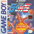 Double Dribble Game Boy Front Cover