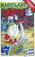 Magicland Dizzy Commodore 64 Front Cover