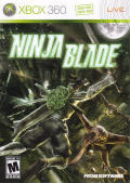 Ninja Blade Xbox 360 Front Cover