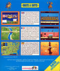 North & South Commodore 64 Back Cover