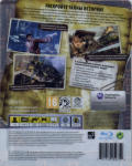 Uncharted 2: Among Thieves (Collector's Limited Edition) PlayStation 3 Back Cover Transparent