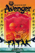 Avenger Commodore 64 Front Cover
