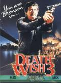 Death Wish 3 MSX Front Cover