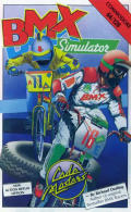 BMX Simulator Commodore 64 Front Cover