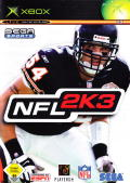 NFL 2K3 Xbox Front Cover