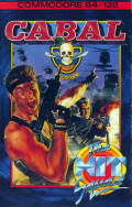 Cabal Commodore 64 Front Cover