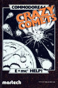 Crazy Comets Commodore 64 Front Cover