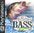 Championship Bass PlayStation Front Cover