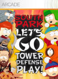 South Park: Let's Go Tower Defense Play! Xbox 360 Front Cover