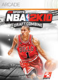 NBA 2K10: Draft Combine Xbox 360 Front Cover