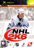 NHL 2K6 Xbox Front Cover