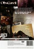 ObsCure: The Aftermath PlayStation 2 Back Cover