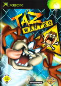 Taz: Wanted Xbox Front Cover