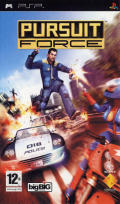 Pursuit Force PSP Front Cover