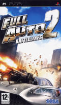 Full Auto 2: Battlelines  PSP Front Cover