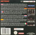 Metroid Game Boy Advance Back Cover