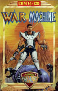 War Machine Commodore 64 Front Cover