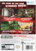 No More Heroes 2: Desperate Struggle Wii Back Cover