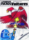Vultures Commodore 64 Front Cover