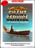 Silent Service Apple IIgs Front Cover