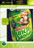 Oddworld: Munch's Oddysee Xbox Front Cover