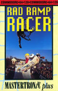 Rad Ramp Racer Commodore 64 Front Cover