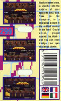 Rad Ramp Racer Commodore 64 Back Cover