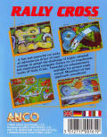 Rally Cross Challenge Commodore 64 Back Cover