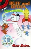 Ruff and Reddy in the Space Adventure Commodore 64 Front Cover