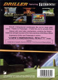 Space Station Oblivion Commodore 64 Back Cover