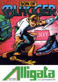 Son of Blagger Commodore 64 Front Cover