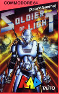 Soldier of Light Commodore 64 Front Cover