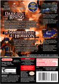 Fire Emblem: Path of Radiance GameCube Back Cover