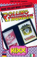Rolling Thunder Commodore 64 Front Cover