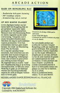 Raid on Bungeling Bay Commodore 64 Back Cover