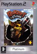 Ratchet & Clank PlayStation 2 Front Cover