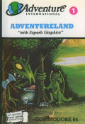 Adventureland Commodore 64 Front Cover