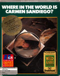 Where in the World Is Carmen Sandiego? Apple IIgs Front Cover