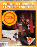 Where in Europe is Carmen Sandiego? Apple II Front Cover